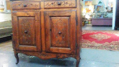 Beautiful 18th century Carved French Country Buffet Sideboard