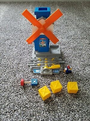 Geotrax Workin Town Railway GeoMotion Windmill R9359 Working, Complete
