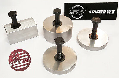 [SR] CNC Machined FRONT Seat Recline Spacers FOR Jeep Wrangler 07-17 MADE IN USA