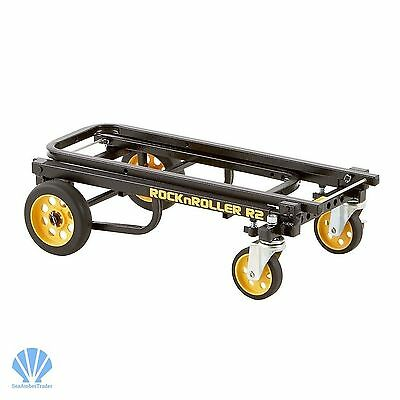 Cart Folding Dolly Push Hand Truck Moving Warehouse & Home Collapsible Trolley