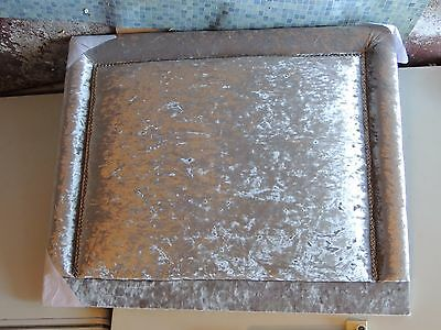 Unopened Brand New Silver Headboard for a Single Bed for Collection only