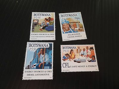 Botswana 2010 Sg 1147-1150 Energy Sources And Uses Mnh