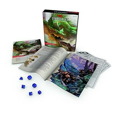 Dungeons Dragons Starter Set: Fantasy DD Roleplaying Game 5th Edition (RPG Boxed