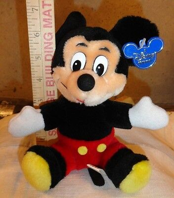 Disneyland Plush Mickey Mouse Small Size- A Disney Origional with tag