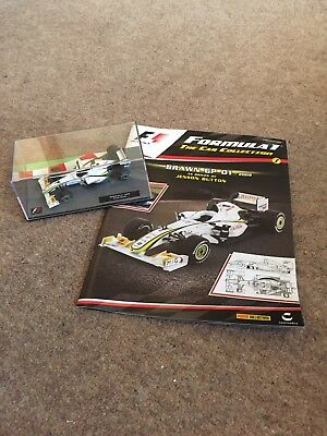 F1 formula 1 car collection Jenson Button Brawn GP 01 ...