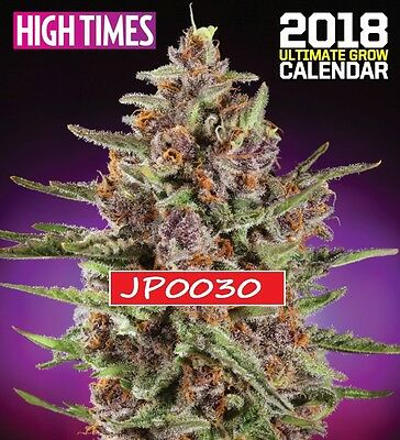 High Times 2018 Ultimate Grow Calendar, Brand New Factory Sealed, Free Shipping!