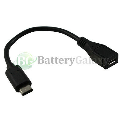 20X USB Micro USB to Type C Adapter Cord for Samsung Galaxy S8 / S8 Plus /Note 8