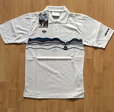 Brand NEW Vintage Adidas Ivan Lendl Tennis Polo shirt in Original Packaging