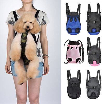 Dog Cat Puppy Nylon Travel Carry Backpack Front Tote Carrier Shoulder Sling Bag