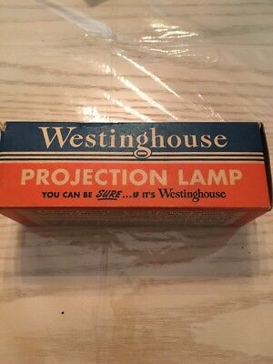 Vintage Westinghouse Projection Lamp Plaque Top 1000W 120V New In Box