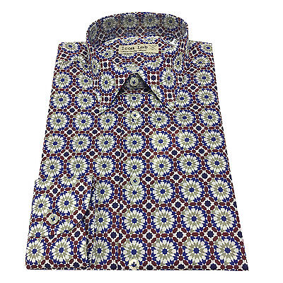 ICON LAB 1961 men's shirts fantasy 100% cotton light