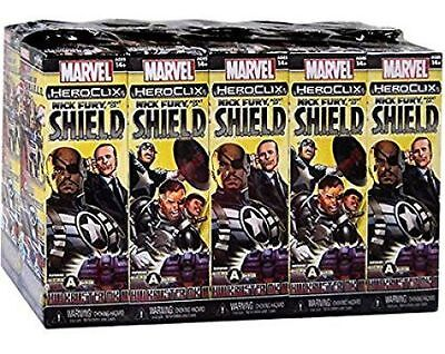 HeroClix: Marvel - Nick Fury, Agent of SHIELD 10 Count Booster Brick
