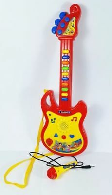 Children/Kids Electronic Easy Play Educational Toy Musical Guitar Mic Toy Set UK