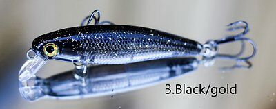 Trout Fishing Lure Hueys Black Gold ( Made in Tasmania )