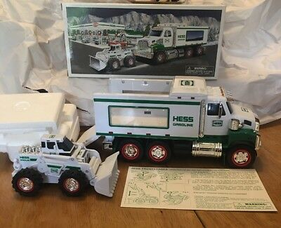 RARE 2008 Hess Toy Truck and Front Loader!! New in box!! • $18.99