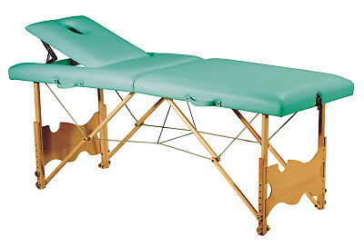 C-123 Therapy Table,Massage Table, Lie Foldable, Portable, Wooden Frame Book