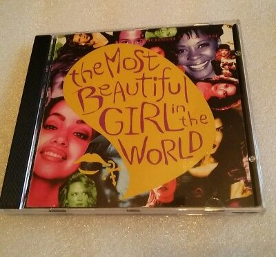Most Beautiful Girl in the World,Prince, Rare CD, Couple Scratches 1994 Single