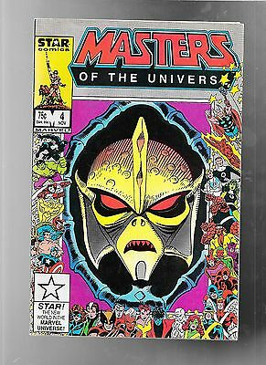 Masters of The Universe 4 1986 Marvel STAR very good 4.0 NO STOCK PHOTO
