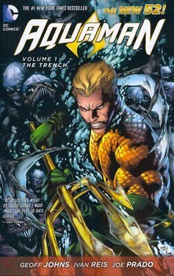 Aquaman Volume 1: The Trench TP (The New 52) by Ivan Reis 9781401237103
