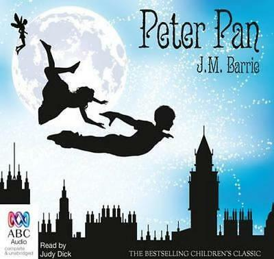 NEW Peter Pan By J. M. Barrie Audio CD Free Shipping
