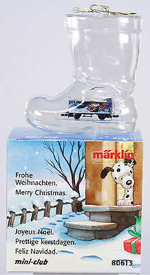 Marklin Z 80613 Christmas Ornament Car for 2003, New in Original Box