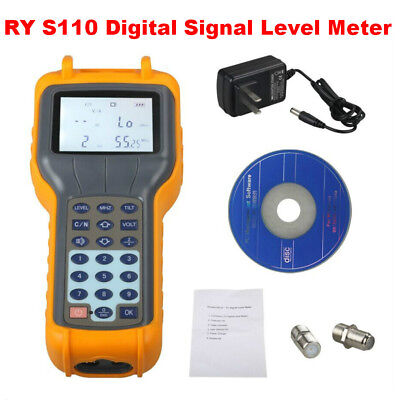 RY-S110 Signal Level Meter TV Field Intensity BD Tester CATV Cable Brand New