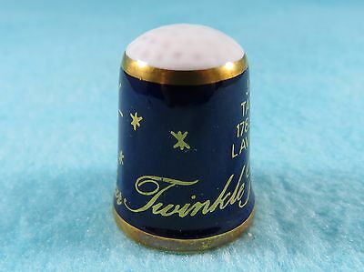 CAVERSWALL Thimble - Nursery Rhymes - Twinkle Twinkle Little Star - Jane Taylor
