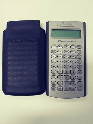 Texas Instruments BAII Plus Professional Financial Calculators Business