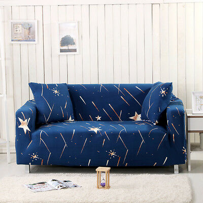 Polyester Spandex Slipcovers Sofa Cover Protector for 1 2 3 4 seater tAUL lxy