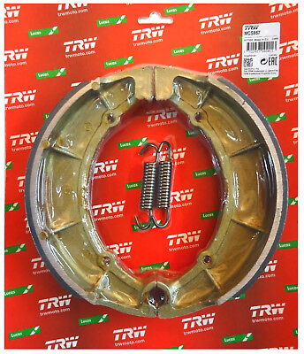 Yamaha XV 535 Virago TRW-Lucas Bremsbacken brake shoes hinten mFed MCS957