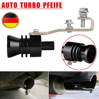 XL Ventil Auto Turbo Sound Whistle Off Simulator Universal Auto Auspuff  Pfeife