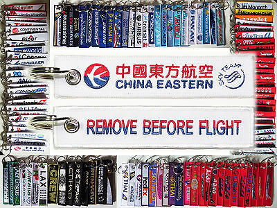 Keyring CHINA EASTERN AIRLINES Remove Before Flight tag keychain