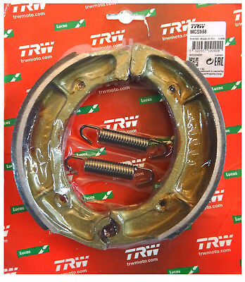 Yamaha XS 400 1980 - 84 TRW-Lucas Bremsbacken brake shoes hinten m Fed MCS958