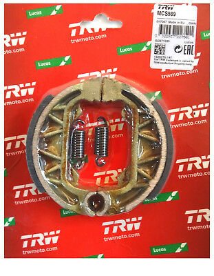 Piaggio Zip 25 50 1993-98 TRW-Lucas Bremsbacken brake shoes hinten Feder MCS989