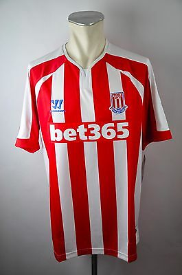 2014 -2015 Stoke City - The Potters warrior Trikot jersey Gr XL HOME NEU