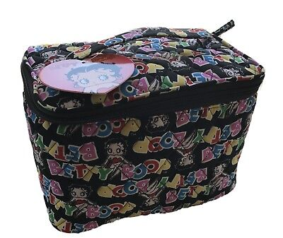 Betty Boop Fabric Travel Organizing Cosmetic Bag