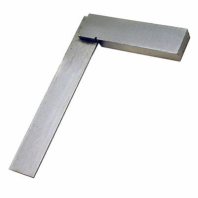 "150mm (6"") Engineers Try Square Set Right Angle Measuring Heavy Polished Steel"