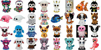 "Ty Beanie Boos Regular size 6"" - Choose Your Favourites New with Mint Tags Boo"