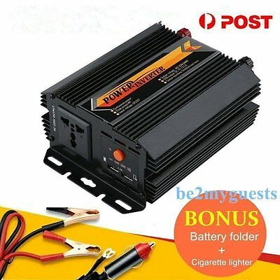 Pure Sine Wave Power Inverter 1500W 3000W 12V-240V LCD For Toyota Corolla HilBE