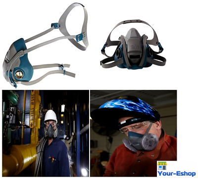 3M Respirator Half Face Mask Welding Industrial Paint Anti Dust Gas Protector