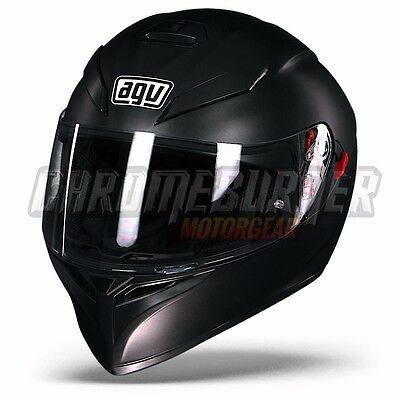 AGV helmet K-3 SV Matt Black motorcycle helmet K3 SV, NEW!