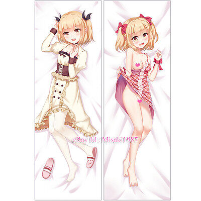 New Game! Dakimakura Yun Iijima Anime Girl Hugging Body Pillow Case Cover 02