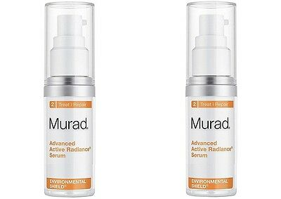 Pack of 2 Murad Advanced Active Radiance Serum 0.5 *2= 1 fl oz