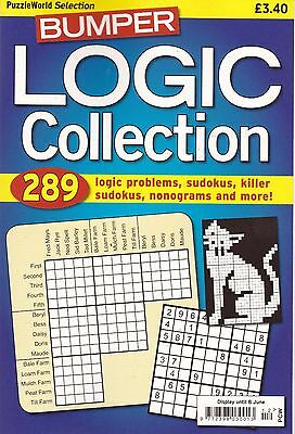 Logic Puzzle Bumper Collection - New Puzzle Book 289 Problems to solve