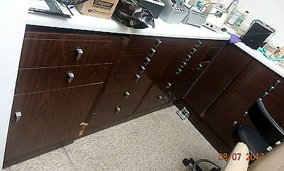 Excellent custom dental medical office salon veterinary clinic cabinets