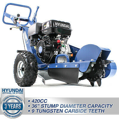 Hyundai HYSG150-2 14hp 420cc Petrol Stump Grinder Heavy Duty Professional Use