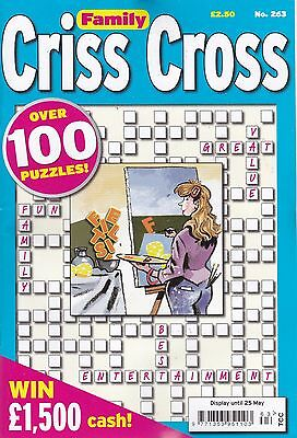 Criss Cross  Puzzle Book - 4 Book set - over 400 Puzzles - New (Set 128)