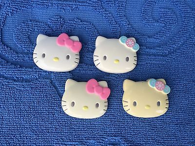 2002 Hello Kitty Hair Clasps/Shoe String Clasp by Sanrio Co., Ltd,