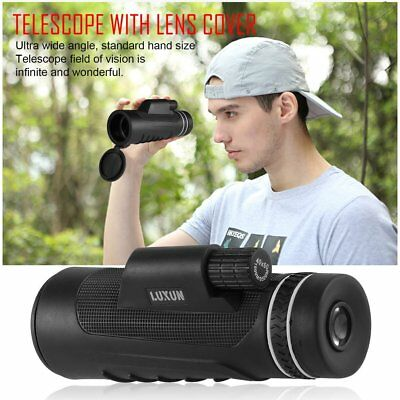 40X60 Focus Zoom Portable HD OPTICS LENS Hiking Monocular Telescope Military BE