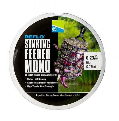Brand New Preston Innovations Reflo Sinking Feeder Mono Line - All Diameters